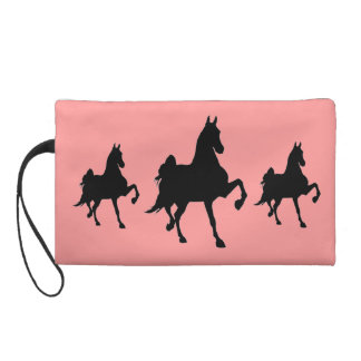 Saddlebreds on Parade Wristlet Clutch