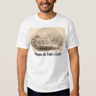 Sade home, Marquis de Sade's Castle T Shirts