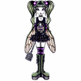 Sadie Gothic Fairy Photo Sculpture
