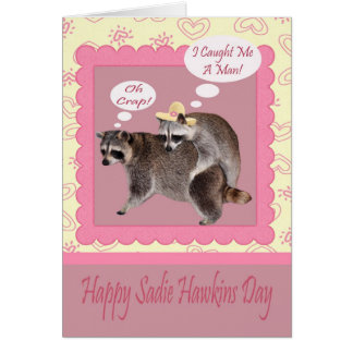 Sadie Hawkins Day Greeting Card