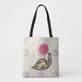 Sadie the Snail All-Over-Print Bag
