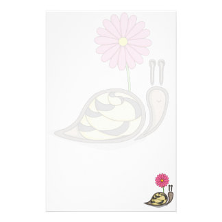 Sadie the Snail Stationery