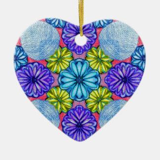 Sadie's Secret Garden Ceramic Heart Decoration