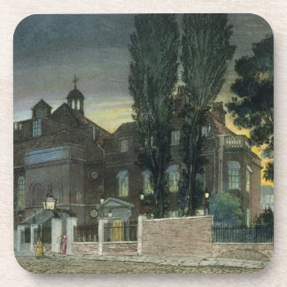 Sadler's Wells, 1826 (coloured engraving) Coasters