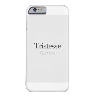Sadness. Barely There iPhone 6 Case