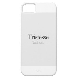 Sadness. iPhone 5 Cover