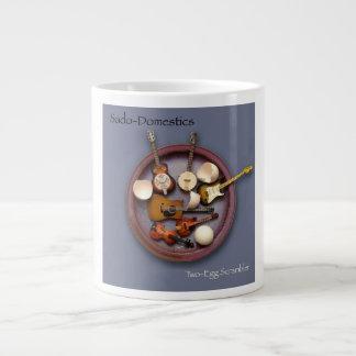 Sado-Domestics Two-Egg Scrambler 20 oz. Coffee Mug Jumbo Mug