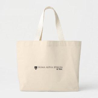 SAE Brand Black Large Tote Bag