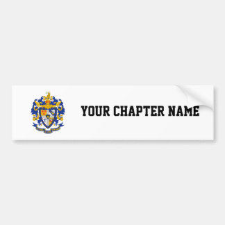 SAE Coat of Arms Color Bumper Sticker