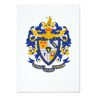SAE Coat of Arms Color Card