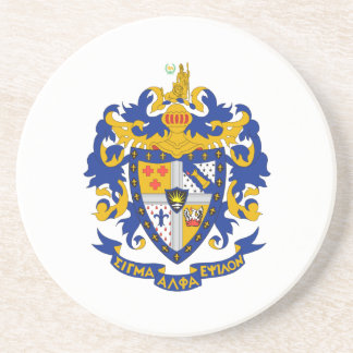 SAE Coat of Arms Color Coaster