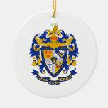 SAE Coat of Arms Colour Round Ceramic Decoration