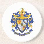 SAE Coat of Arms Colour Sandstone Coaster