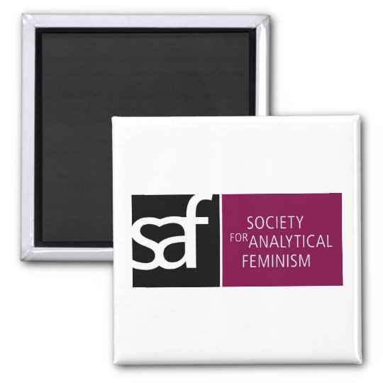 SAF logo magnet
