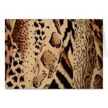 Safari animal fabric print