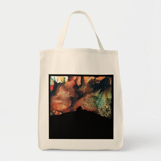 Safari Animal, Lioness Silhouette shopping bag, Tote Bag