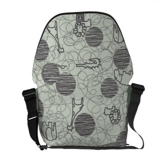 safari animals 1 courier bag