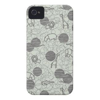 safari animals 1 iPhone 4 cases