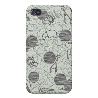 safari animals 1 iPhone 4 cover