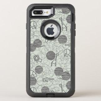 safari animals 1 OtterBox defender iPhone 8 plus/7 plus case