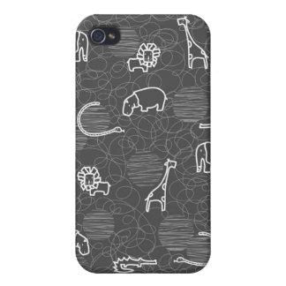 safari animals 5 cover for iPhone 4