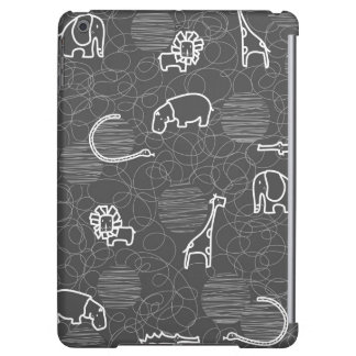 safari animals 5 iPad air case