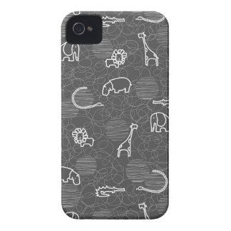safari animals 5 iPhone 4 Case-Mate case