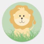 Safari Animals Sticker - Zebra Sticker