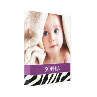 SAFARI | BABY CANVAS PORTRAIT GALLERY WRAPPED CANVAS