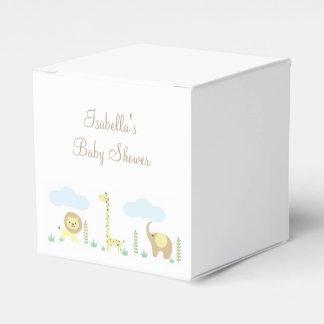 Safari Baby Shower Favor Boxes