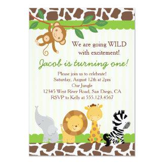 Safari party invitation gidiyedformapolitica safari party invitation filmwisefo Choice Image