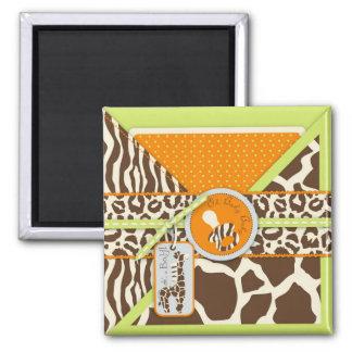 Safari Boy Green Magnet