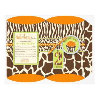 Safari Boy OR Puff Box 2 21.5 Cm X 28 Cm Flyer