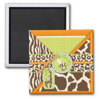 Safari Boy Orange Magnet
