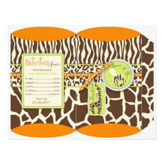 Safari Boy Orange Puff Box Custom Flyer