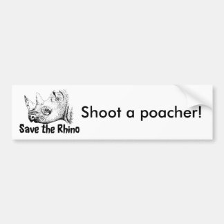 Safari bumper sticker