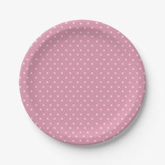 Safari Carousel Birthday Polka Dot Paper Plates 7 Inch Paper Plate