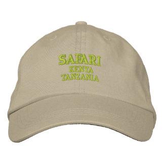 Safari Embroidered Cap