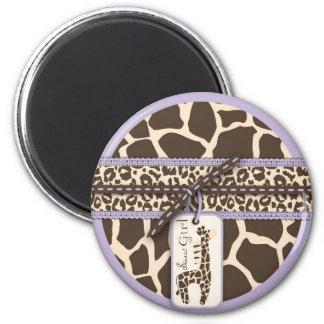 Safari Girl LAV Magnet 2
