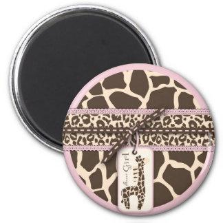 Safari Girl Magnet