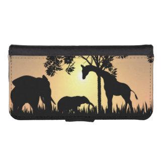 Safari iPhone and Galaxy wallet case