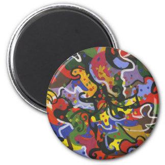 safari jungle magnet
