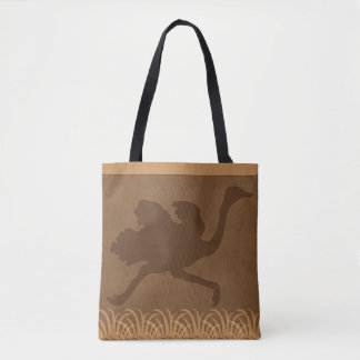 Safari | Jungle Theme | Ostrich Tote Bag