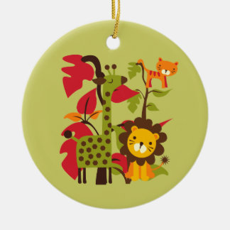 Safari Life Christmas Ornament