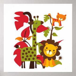 Safari Life Posters