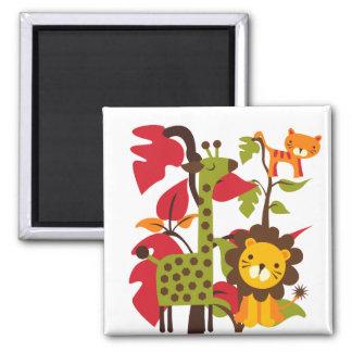 Safari Life Square Magnet