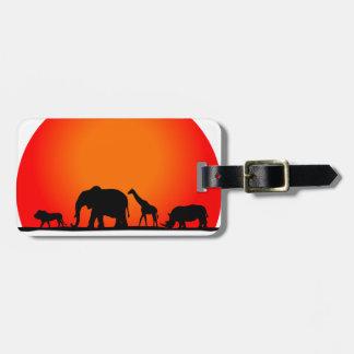 Safari Luggage Tag