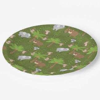 Safari Paper Plate
