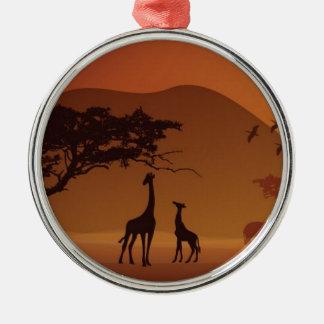 Safari park christmas ornament
