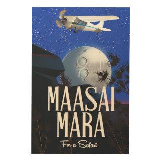 Safari poster to Massai Mara  , Kenya!